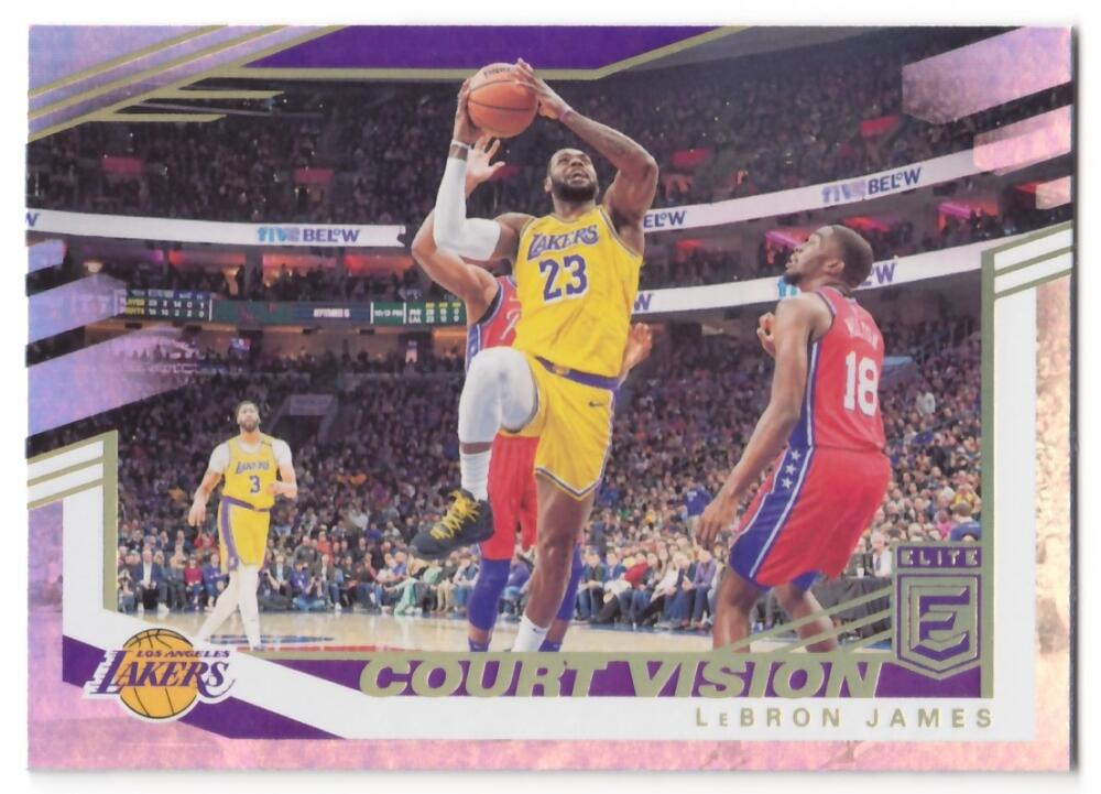 2019-20 Donruss Elite Court Vision