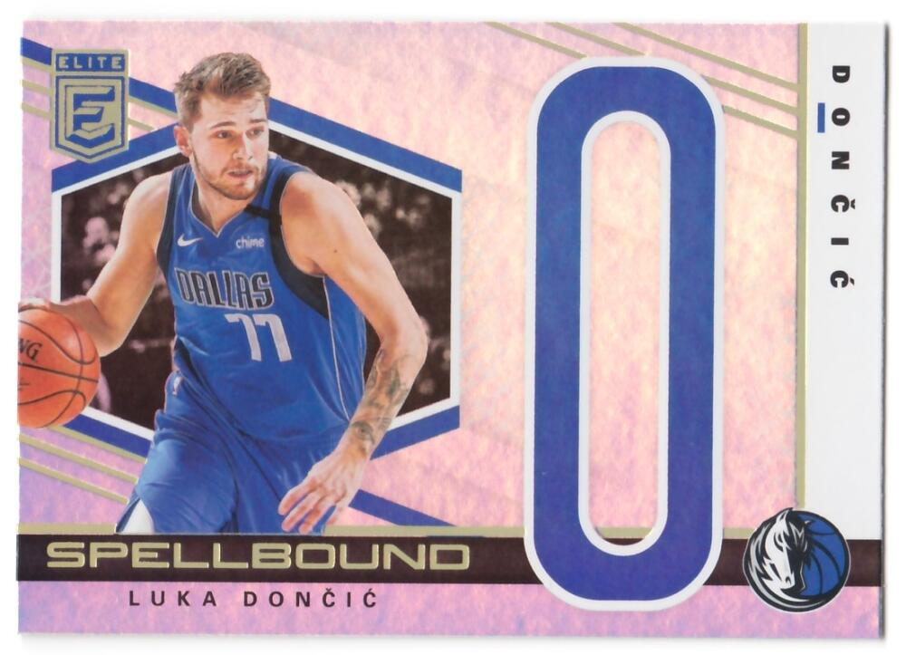 2019-20 Donruss Elite Spellbound