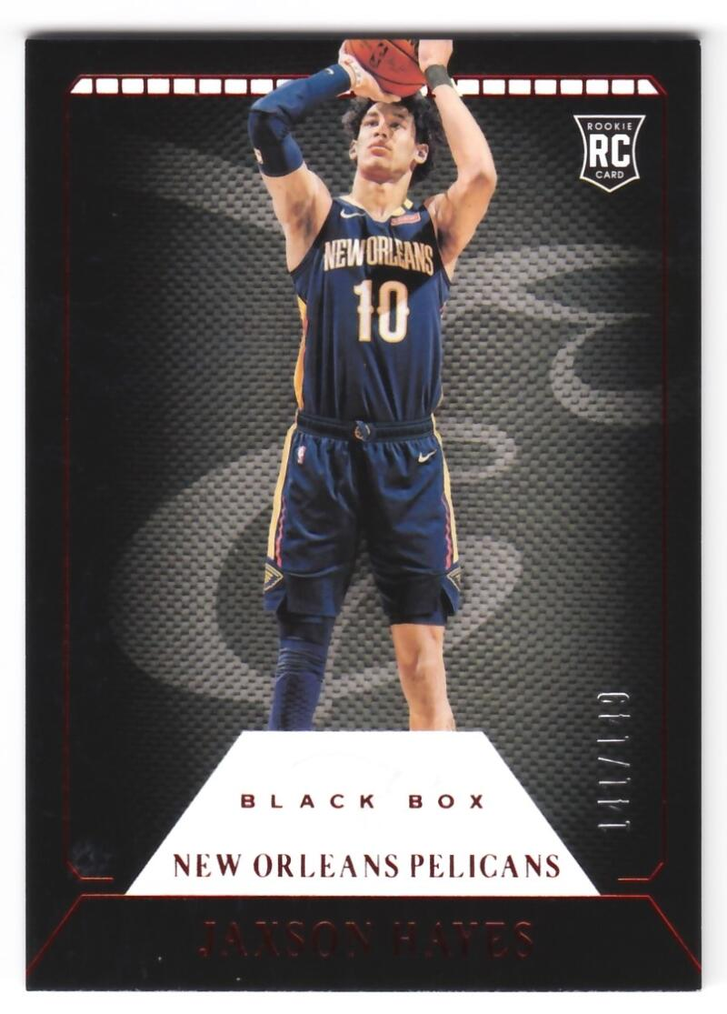 2019-20 Panini Chronicles Elite Black Box Red