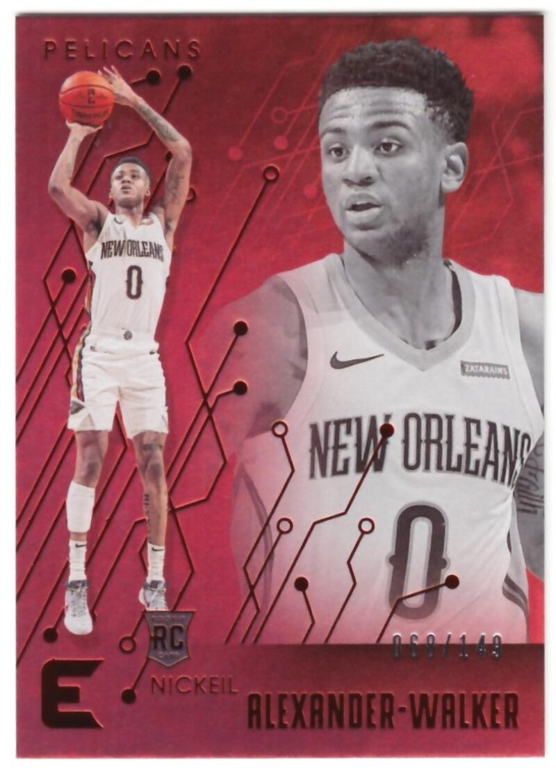 2019-20 Panini Chronicles Essentials Red