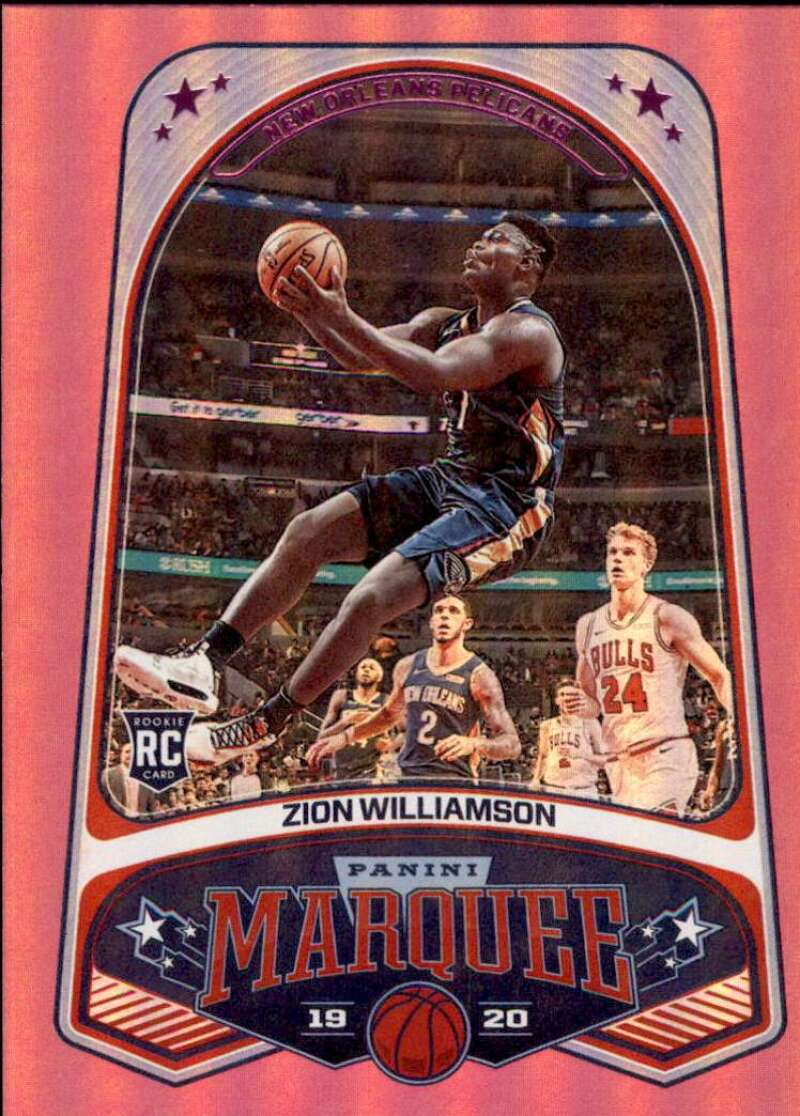 2019-20 Panini Chronicles Marquee Pink