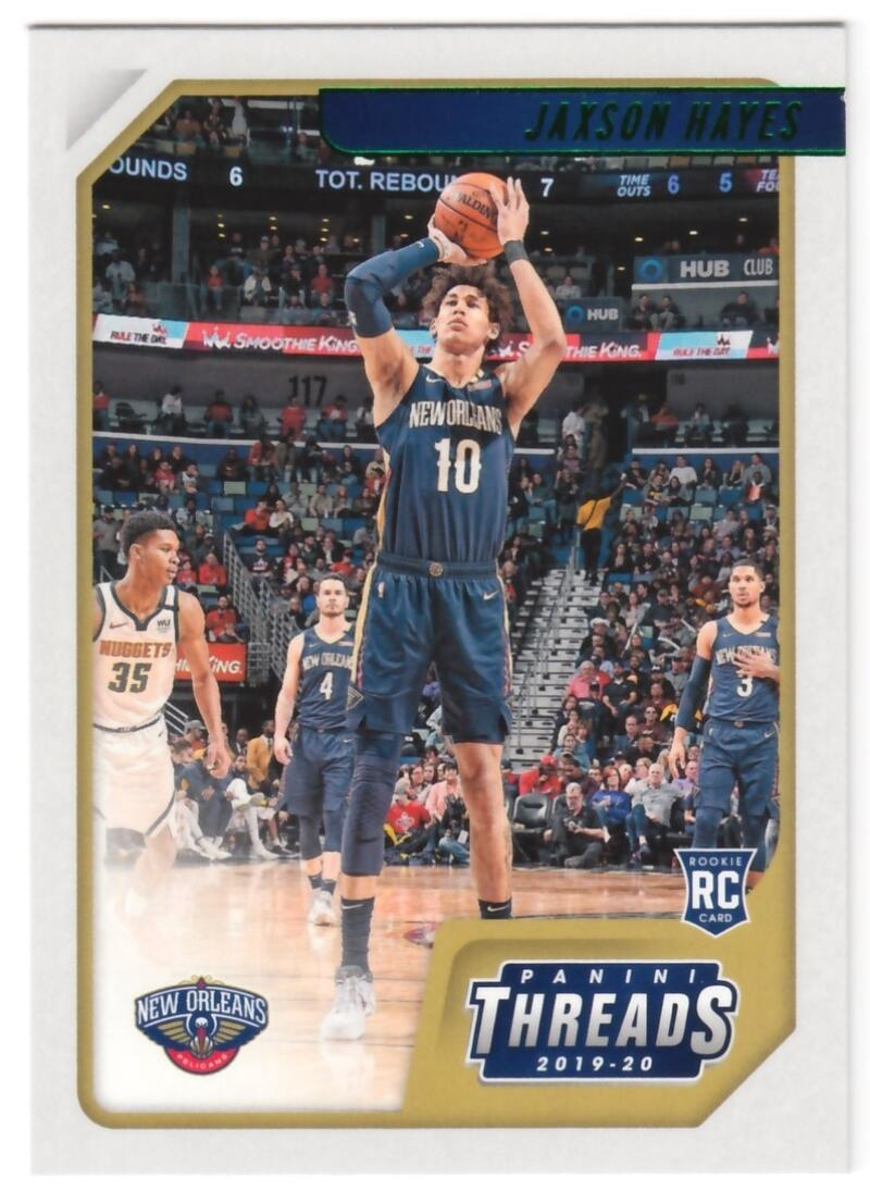 2019-20 Panini Chronicles Threads Green