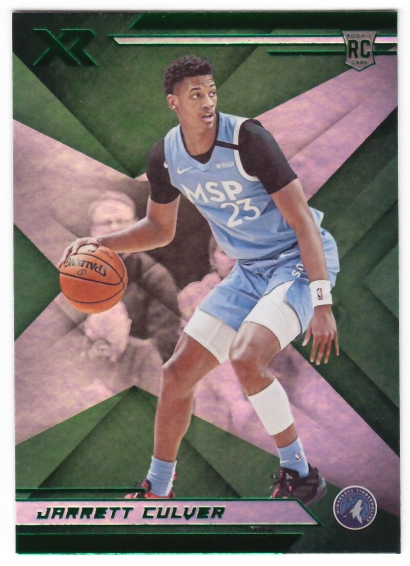 2019-20 Panini Chronicles XR Green