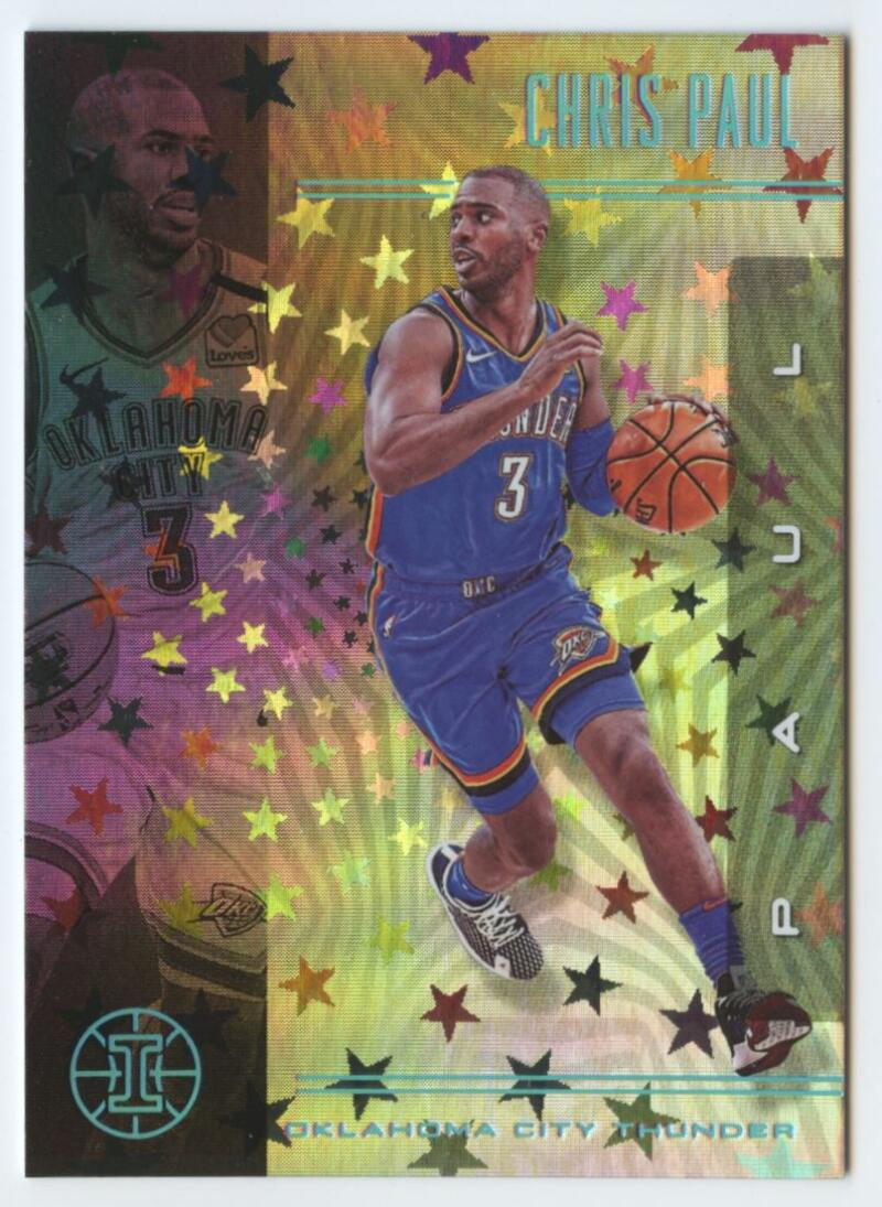 2019-20 Panini Illusions Trophy Collection Starlight