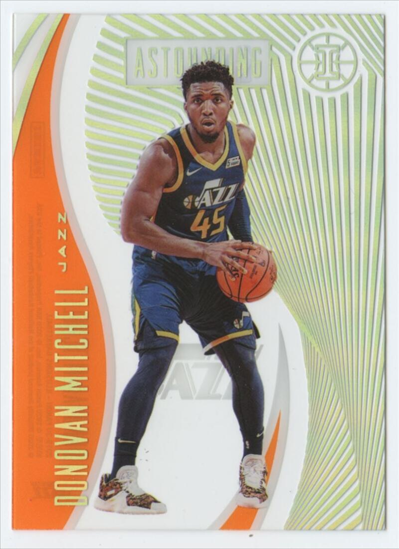 2019-20 Panini Illusions Astounding Orange