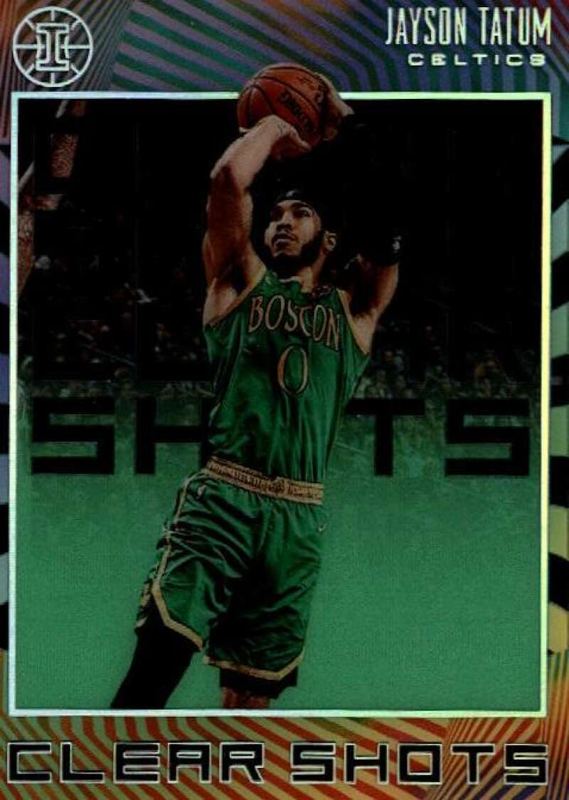 2019-20 Panini Illusions Clear Shots Emerald