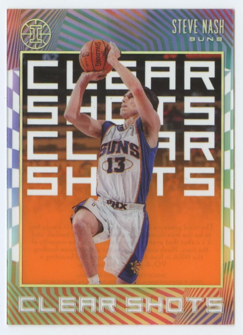 2019-20 Panini Illusions Clear Shots Orange