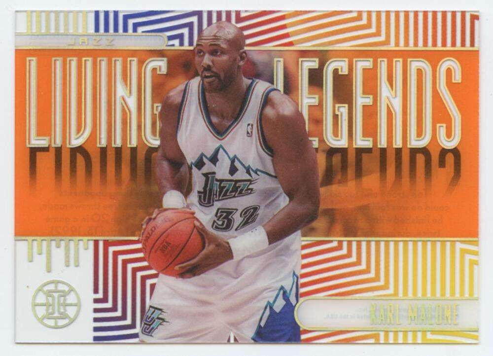 2019-20 Panini Illusions Living Legends Orange