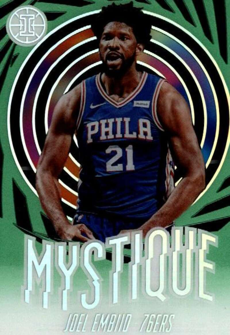 2019-20 Panini Illusions Mystique Emerald