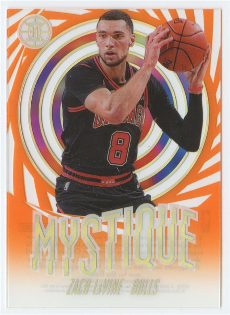 2019-20 Panini Illusions Mystique Orange