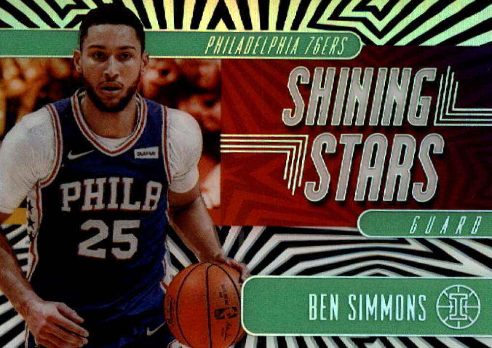 2019-20 Panini Illusions Shining Stars Emerald