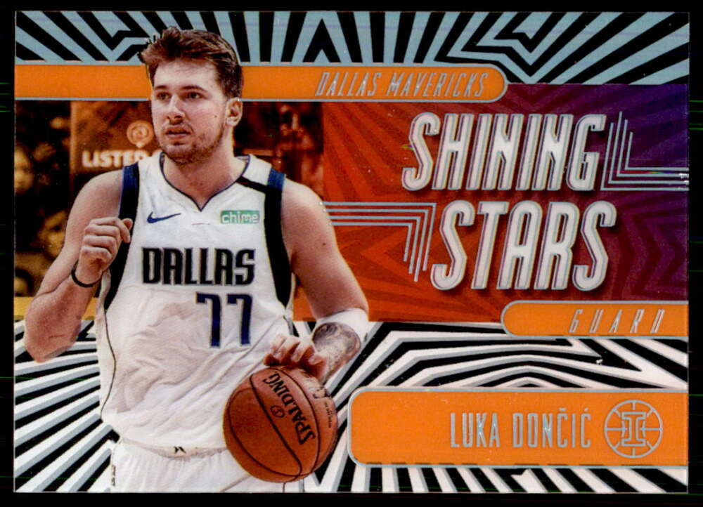 2019-20 Panini Illusions Shining Stars Orange