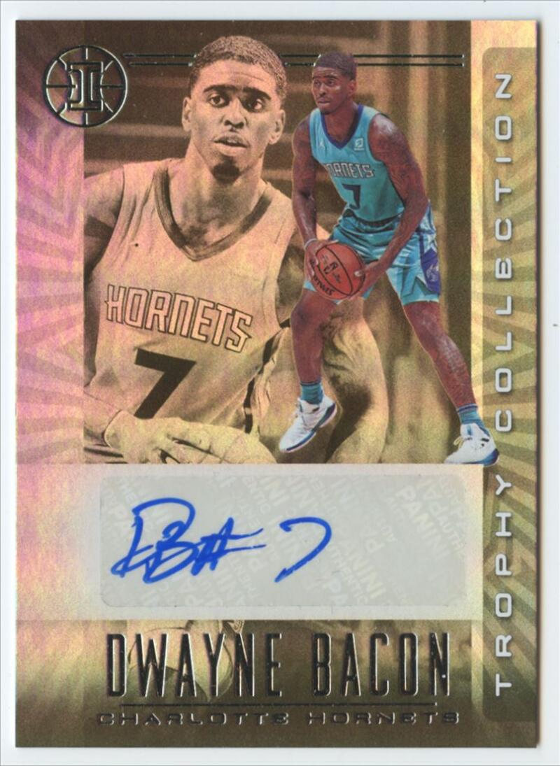 2019-20 Panini Illusions Trophy Collection Signatures