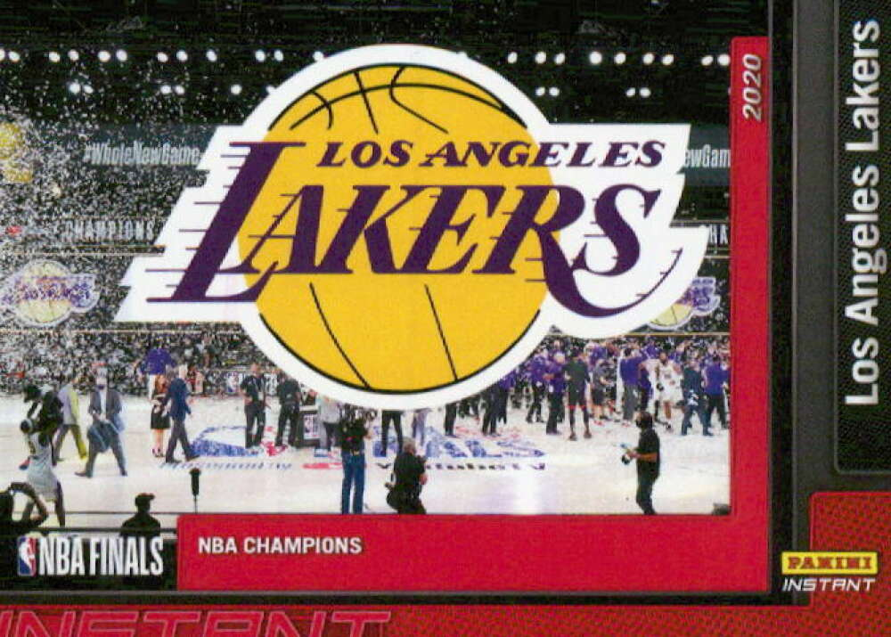 2019-20 Panini Los Angeles Lakers NBA Champions