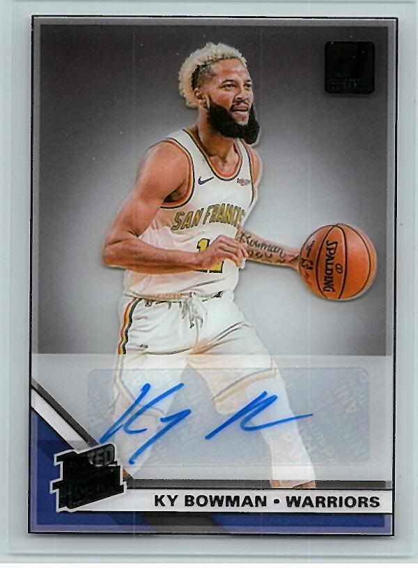 2019-20 Panini Clearly Donruss Rated Rookie Autographs