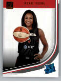 2019 Donruss WNBA #90 Jackie Young Las Vegas Aces Rated Rookie  RC Official Panini Basketball Card