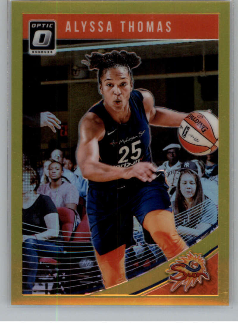 2019 Donruss WNBA Optic Gold