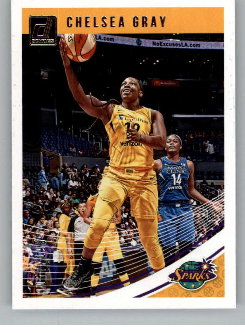 2019 Donruss WNBA Press Proof Silver