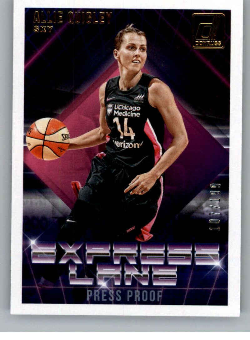 2019 Donruss WNBA Express Lane Press Proof