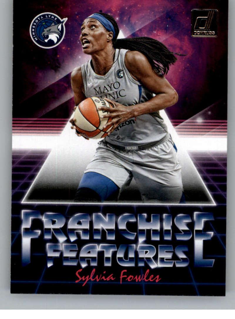 2019 Donruss WNBA Franchise Features