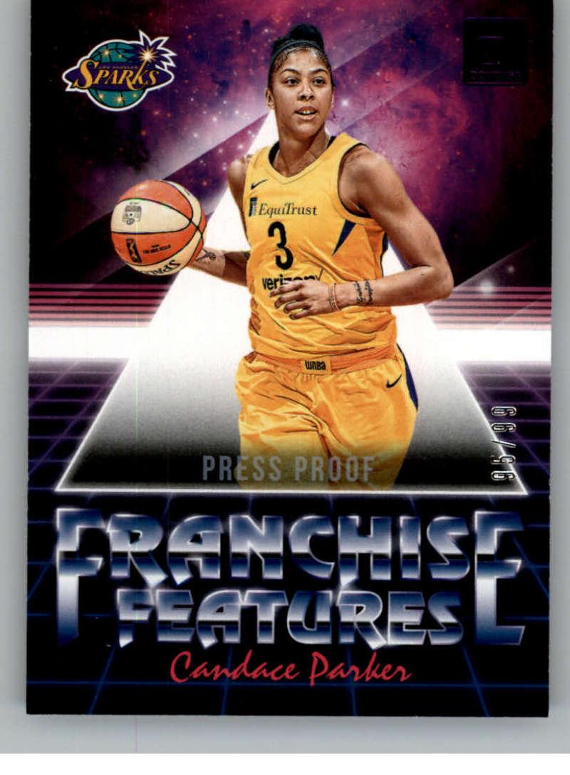 2019 Donruss WNBA Franchise Features Press Proof Purple