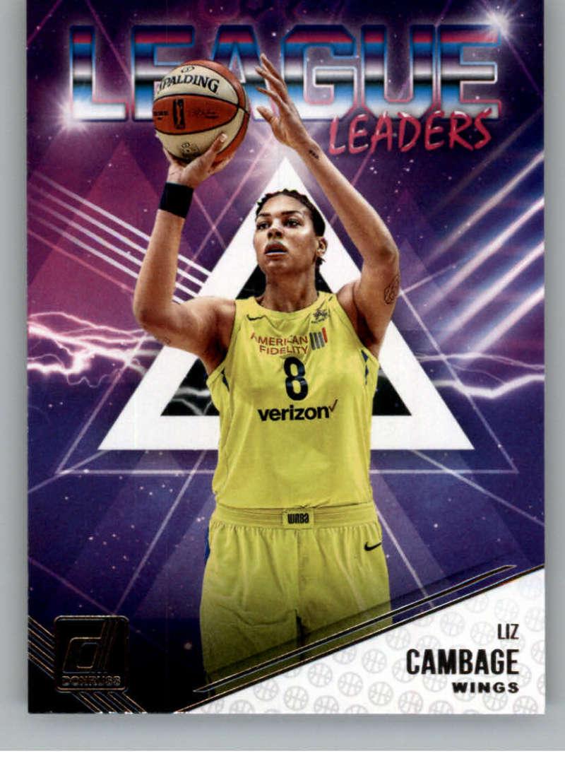 2019 Donruss WNBA League Leaders