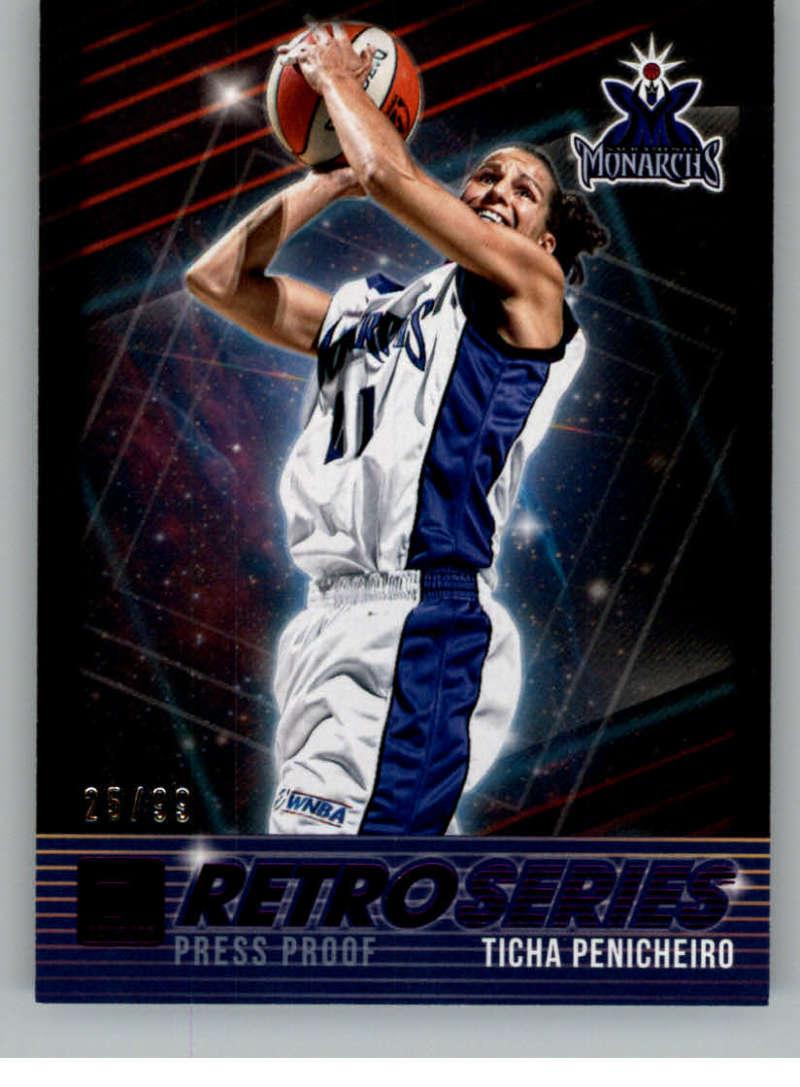 2019 Donruss WNBA Retro Series Press Proof Purple