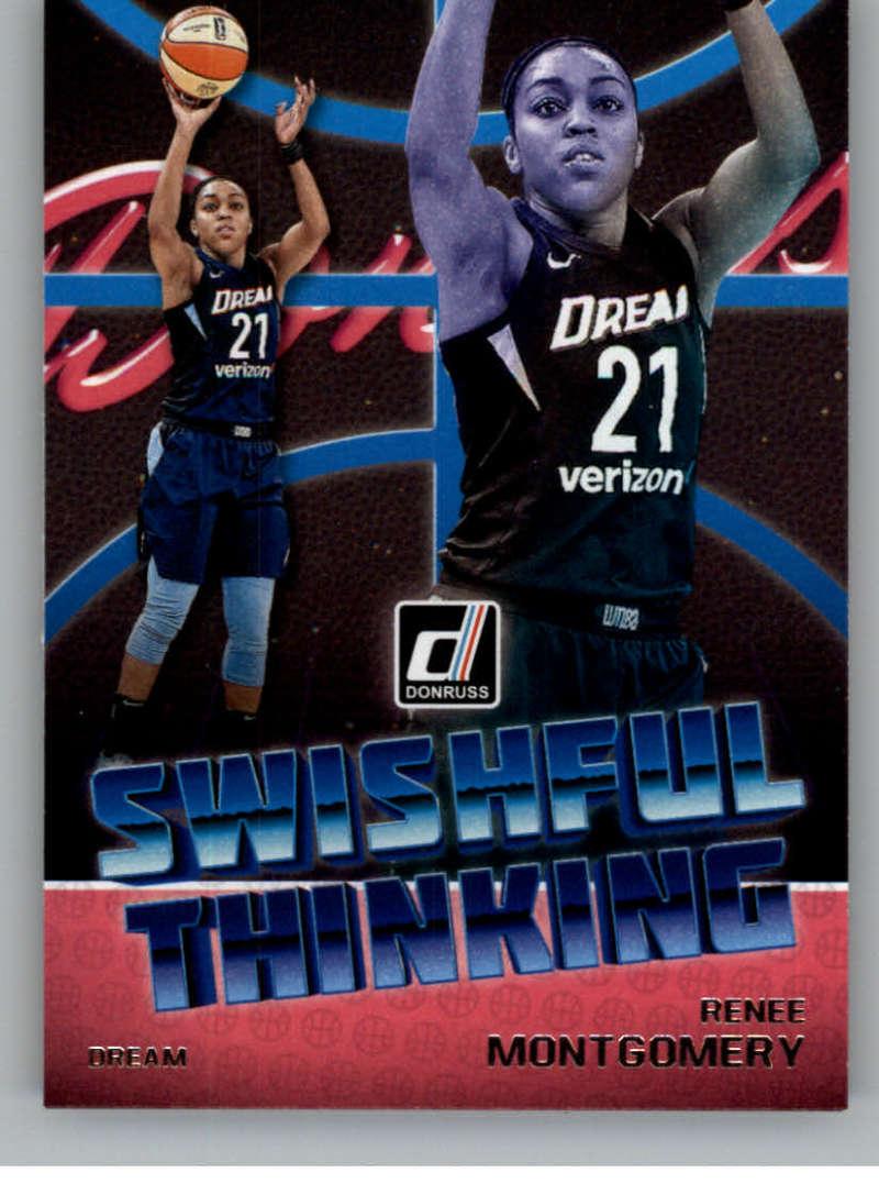 2019 Donruss WNBA Swishful Thinking