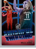 2019 Donruss WNBA Swishful Thinking #12 Elena Delle Donne Washington Mystics  Official Panini Basketball Card