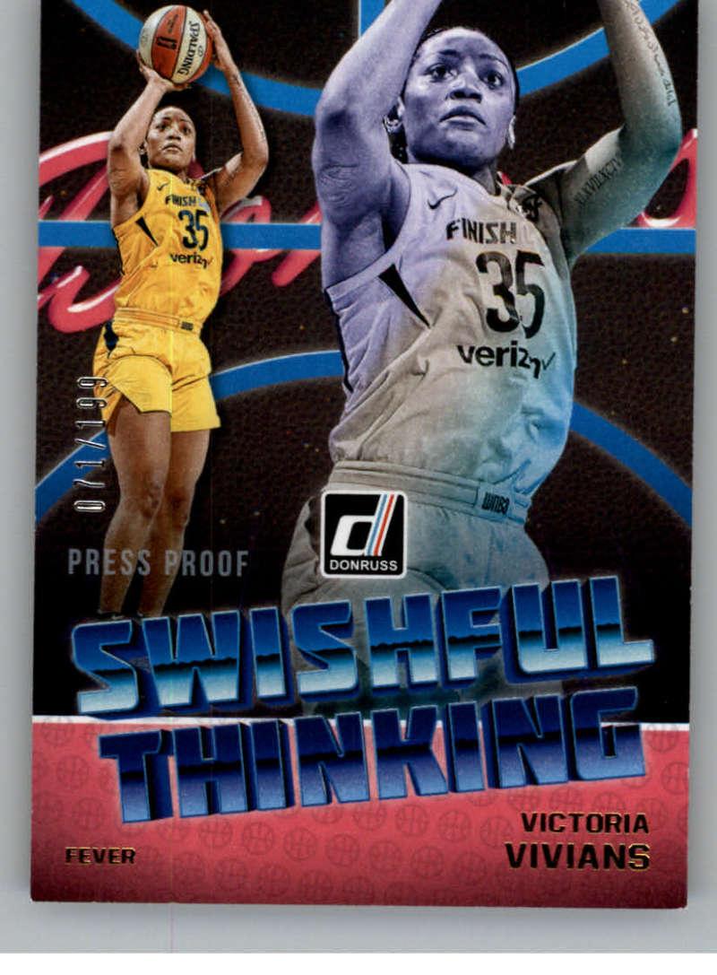 2019 Donruss WNBA Swishful Thinking Press Proof