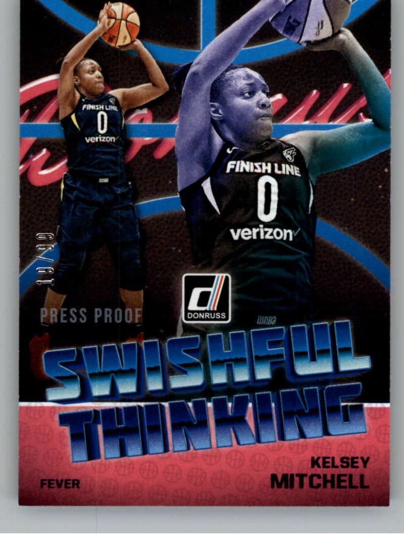 2019 Donruss WNBA Swishful Thinking Press Proof Purple