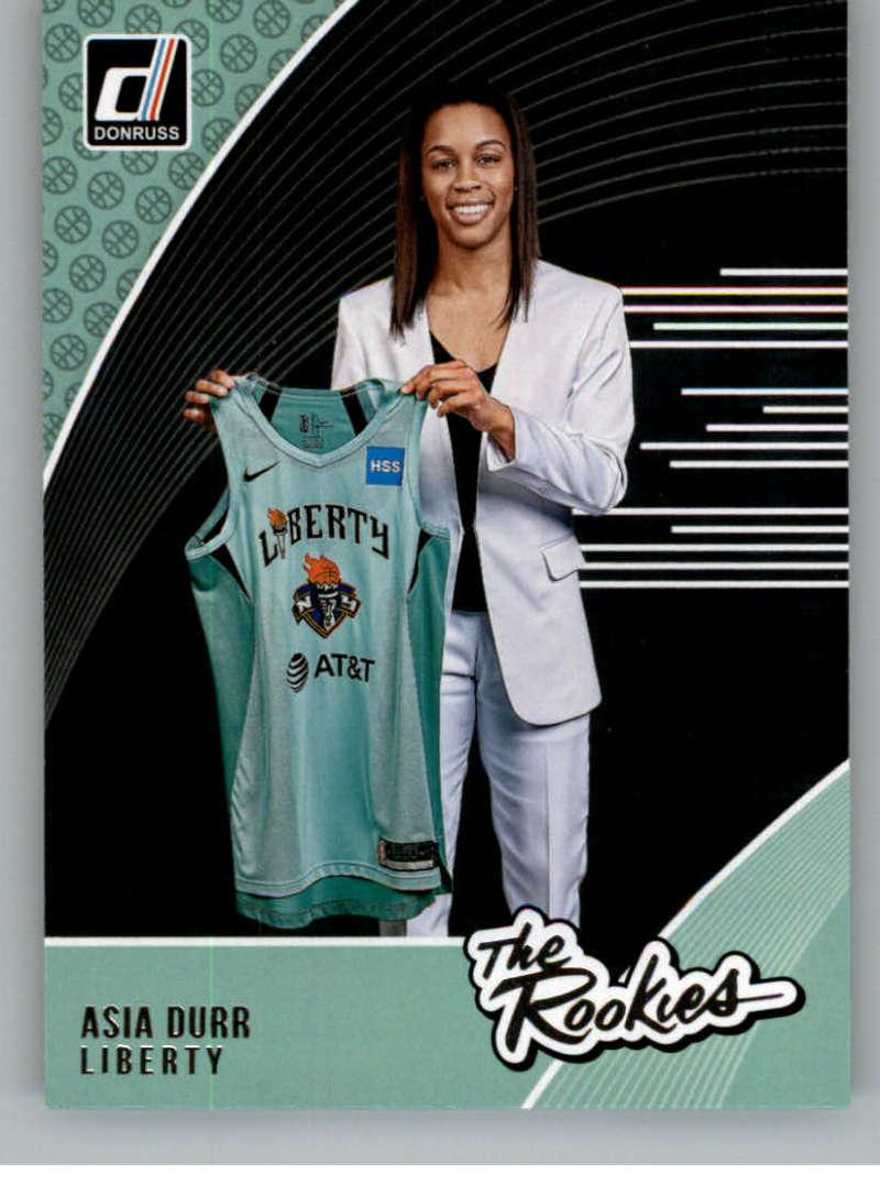 2019 Donruss WNBA The Rookies