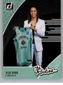 2019 Donruss WNBA The Rookies #1 Asia Durr New York Liberty  RC Rookie Official Panini Basketball Card