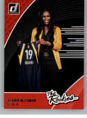 2019 Donruss WNBA The Rookies #4 Teaira McCowan Indiana Fever  RC Rookie Official Panini Basketball Card