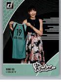 2019 Donruss WNBA The Rookies #6 Han Xu New York Liberty  RC Rookie Official Panini Basketball Card