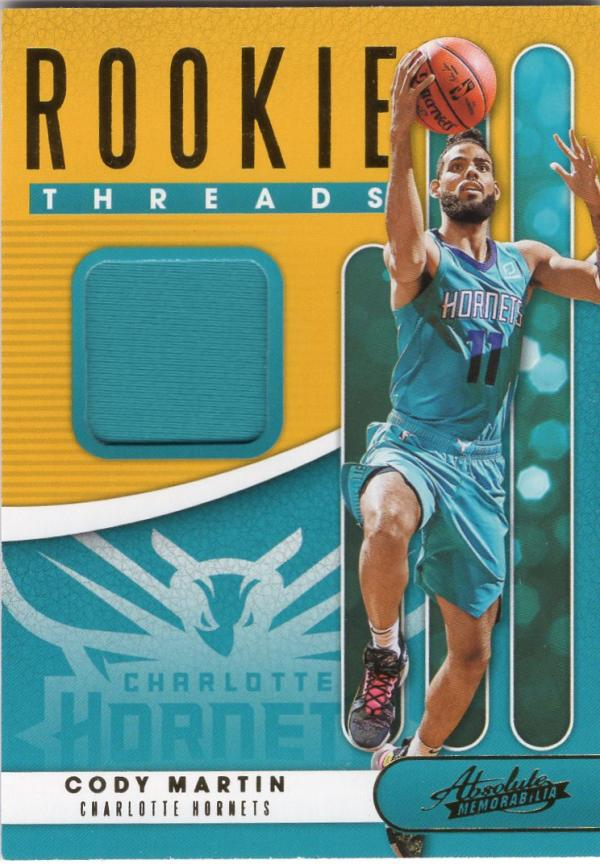 2019 Panini Absolute Rookie Threads Level 1