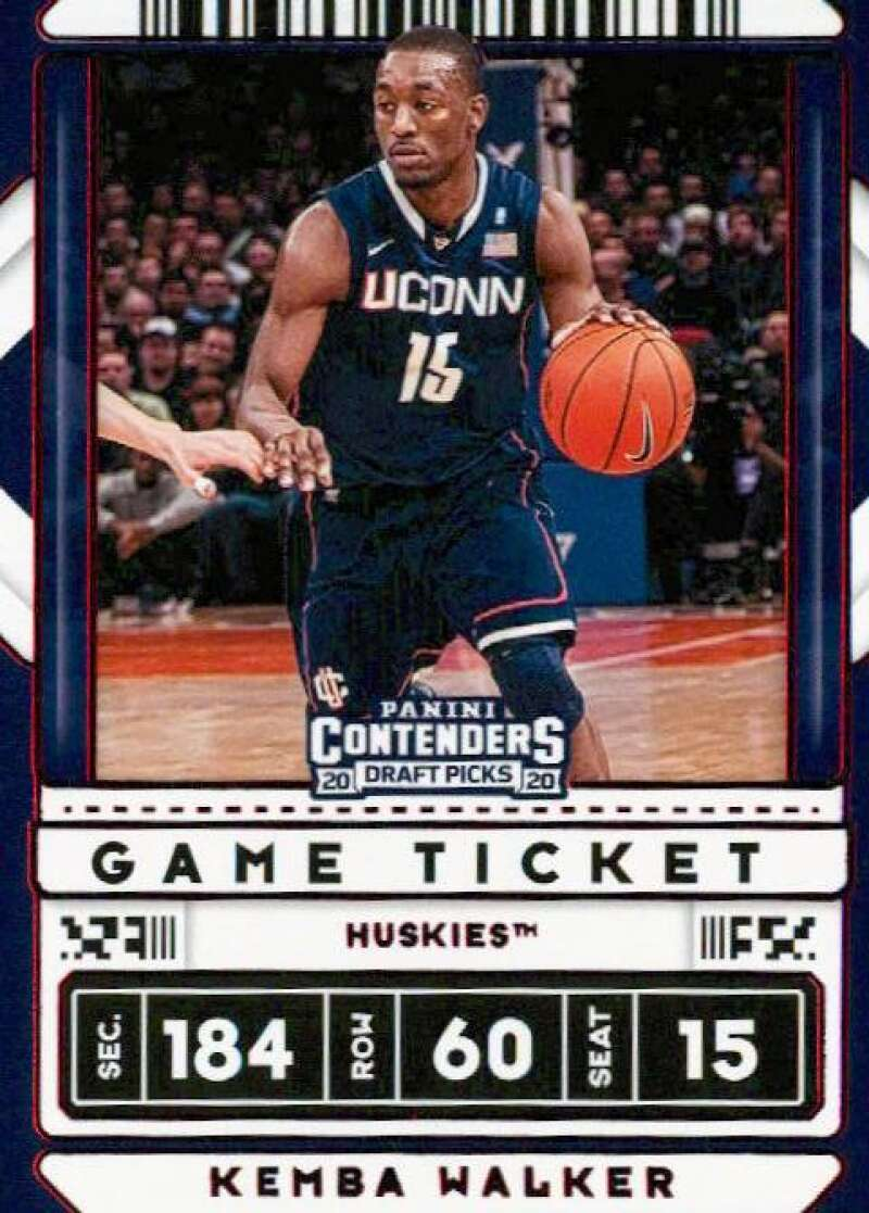 2020-21 Panini Contenders Draft Picks Game Ticket Variation Red