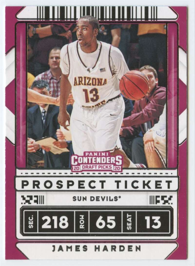 2020-21 Panini Contenders Draft Picks Prospect Ticket