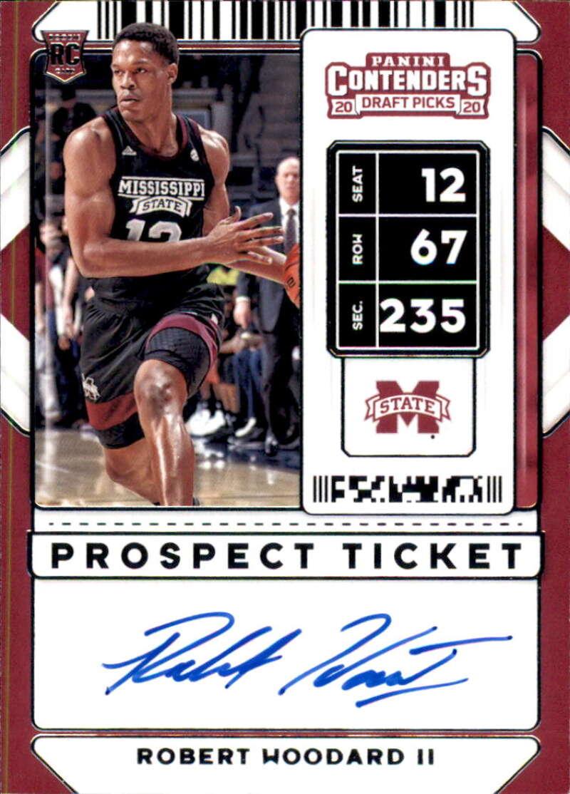 2020-21 Panini Contenders Draft Picks Prospect Ticket RPS Autographs Variation B