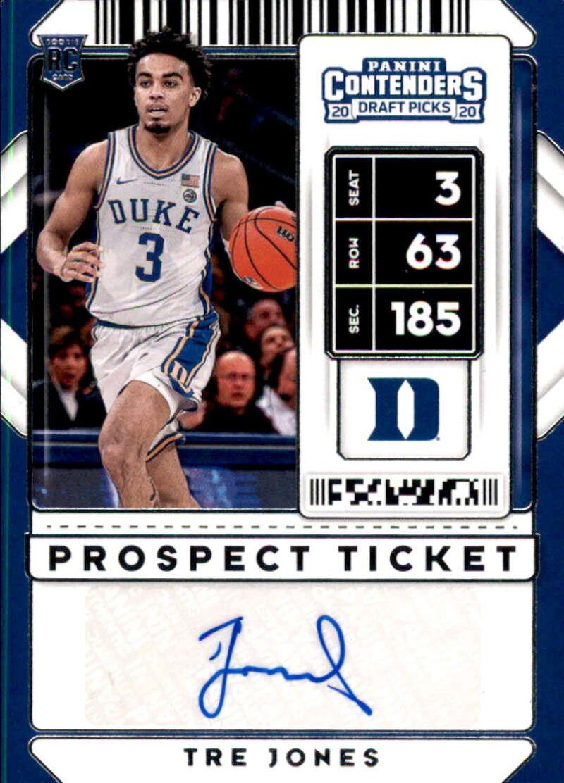 2020-21 Panini Contenders Draft Picks Prospect Ticket Stickers Autographs Variation
