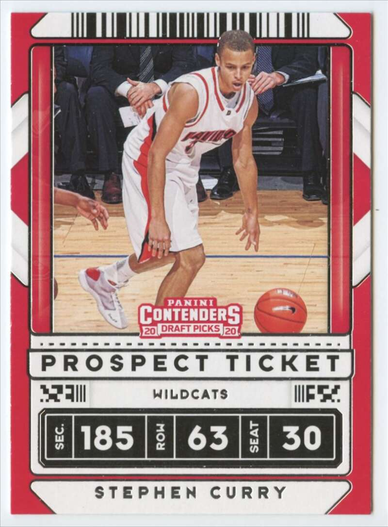 2020-21 Panini Contenders Draft Picks Prospect Ticket Variation
