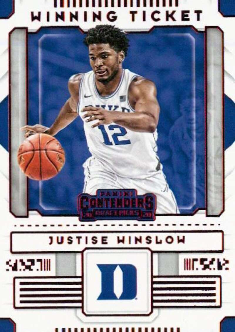 2020-21 Panini Contenders Draft Picks Winning Tickets Red