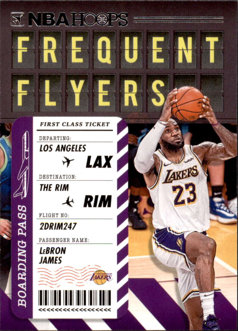 2020-21 Panini Hoops Frequent Flyers