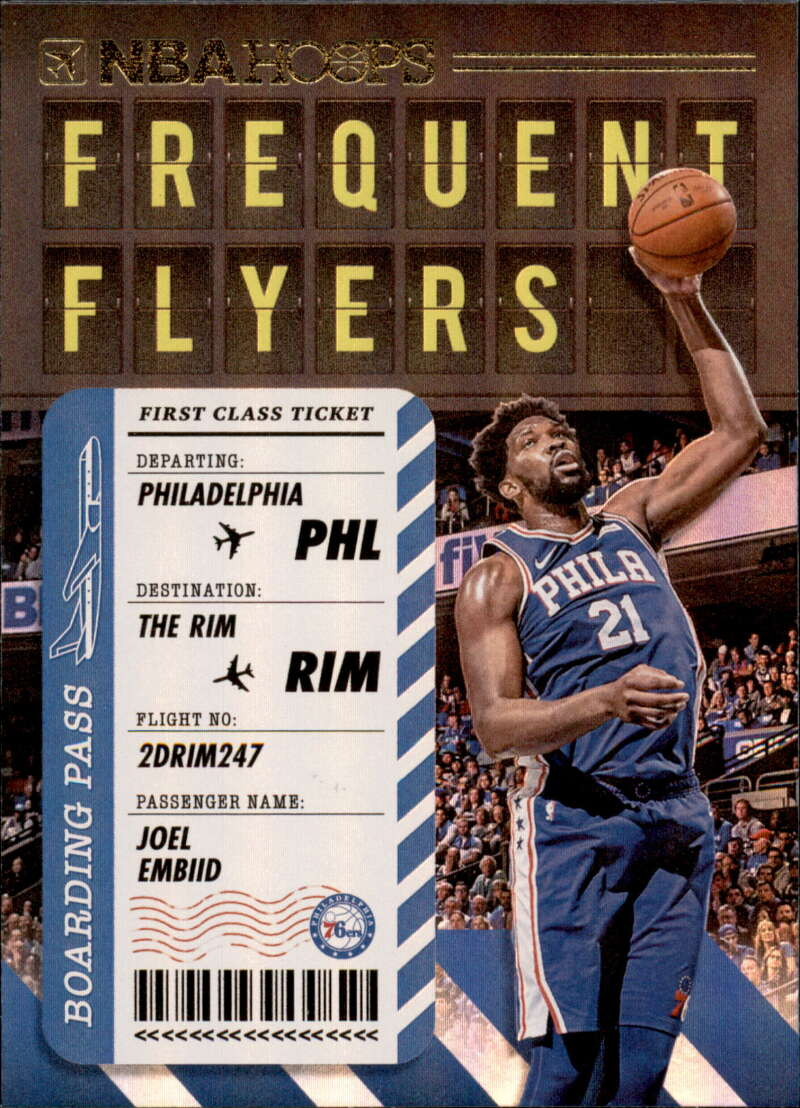 2020-21 Panini Hoops Frequent Flyers Holo