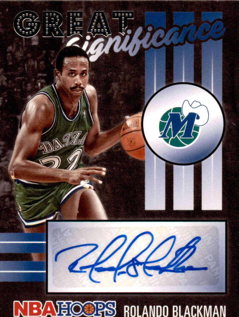 2020-21 Panini Hoops Great SIGnificance