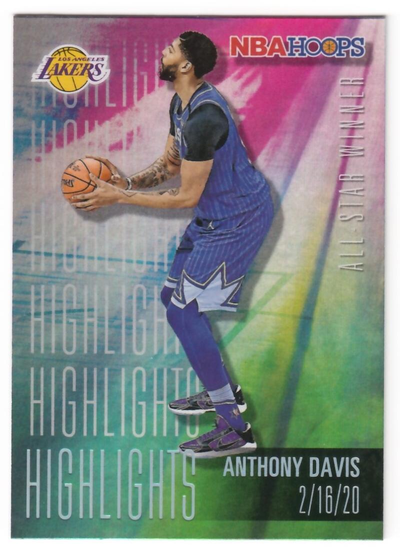 2020-21 Panini Hoops Highlights