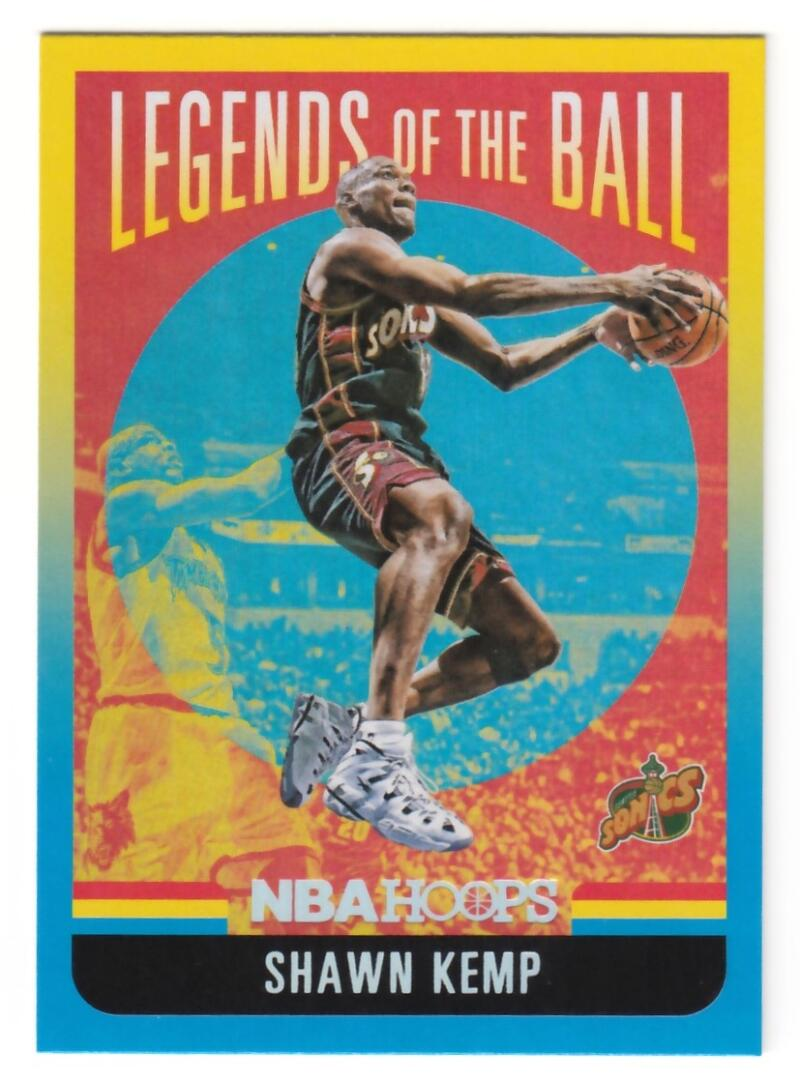 2020-21 Panini Hoops Legends of the Ball