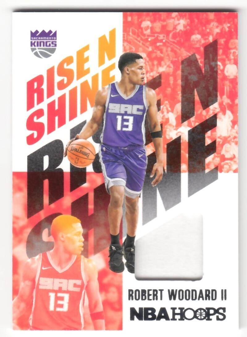 2020-21 Panini Hoops Rise N Shine Memorabilia