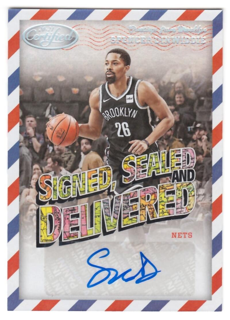 2020-21 Panini Certified Signed Sealed and Delivered