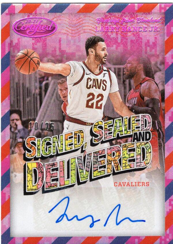 2020-21 Panini Certified Signed Sealed and Delivered Camo